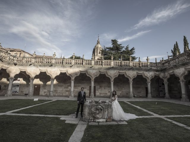 La boda de Guille y Mavi en Topas, Salamanca 46