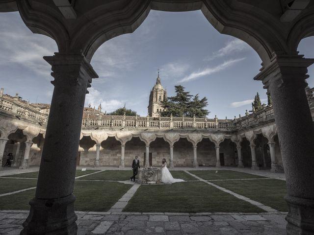 La boda de Guille y Mavi en Topas, Salamanca 47