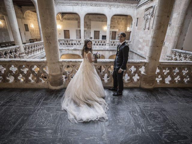 La boda de Guille y Mavi en Topas, Salamanca 50