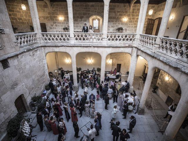 La boda de Guille y Mavi en Topas, Salamanca 51