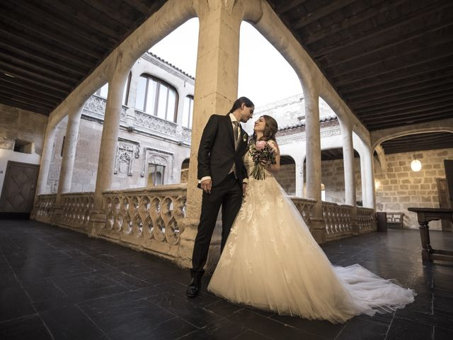 La boda de Guille y Mavi en Topas, Salamanca 52