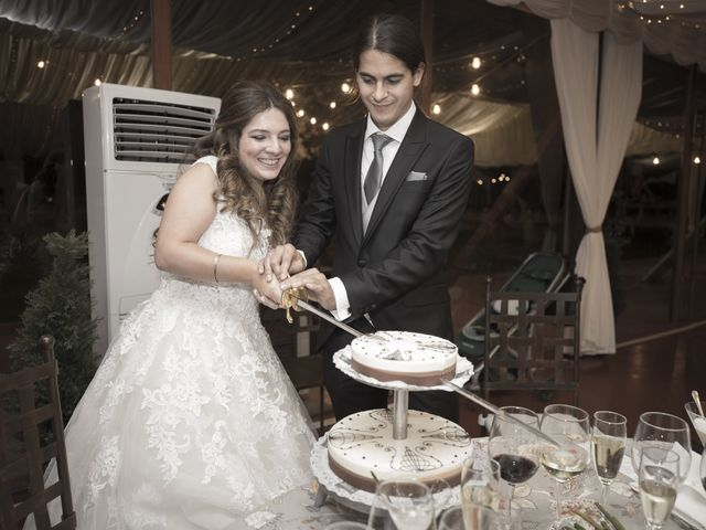 La boda de Guille y Mavi en Topas, Salamanca 67