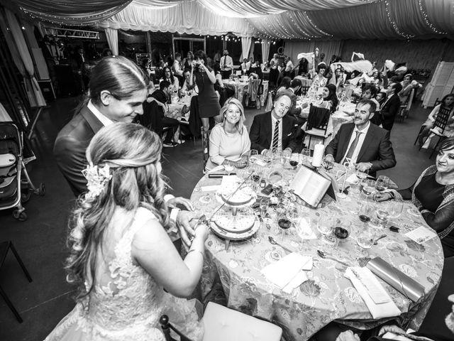 La boda de Guille y Mavi en Topas, Salamanca 68