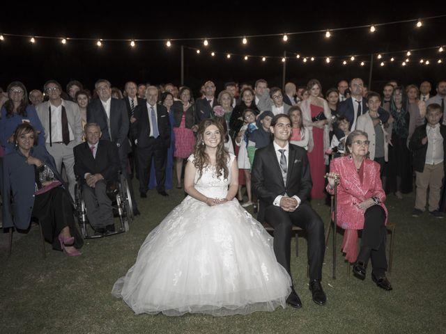 La boda de Guille y Mavi en Topas, Salamanca 71