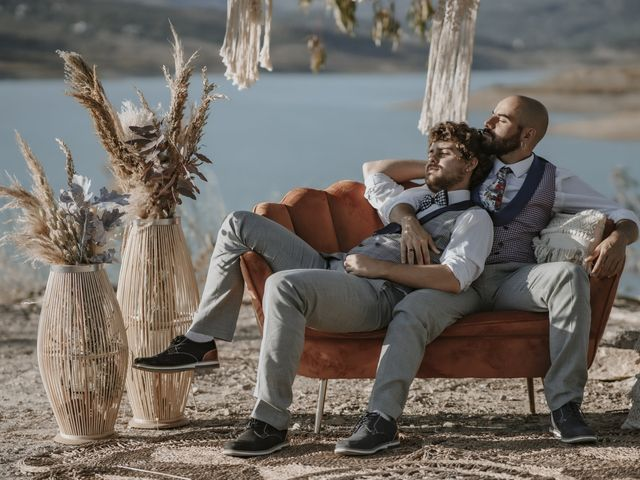 La boda de Alvaro y Kev en Viñuela, Málaga 2