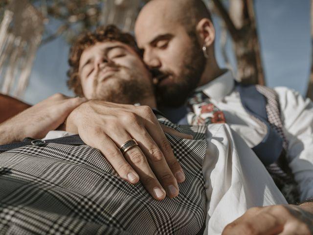 La boda de Alvaro y Kev en Viñuela, Málaga 8
