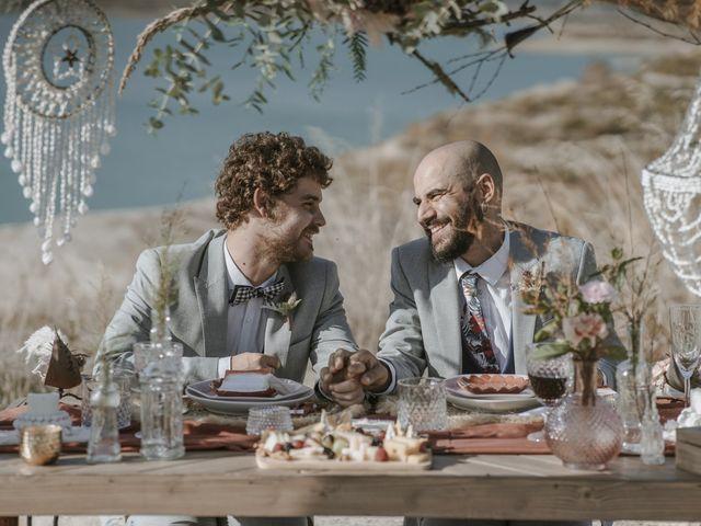 La boda de Alvaro y Kev en Viñuela, Málaga 12