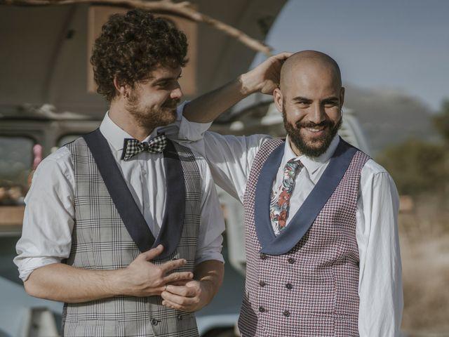 La boda de Alvaro y Kev en Viñuela, Málaga 15