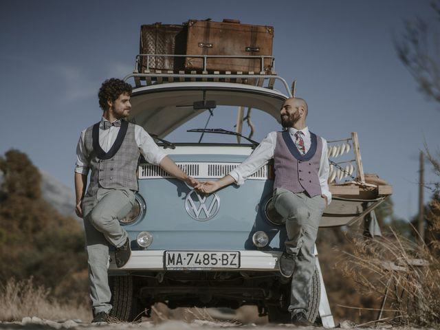 La boda de Alvaro y Kev en Viñuela, Málaga 17