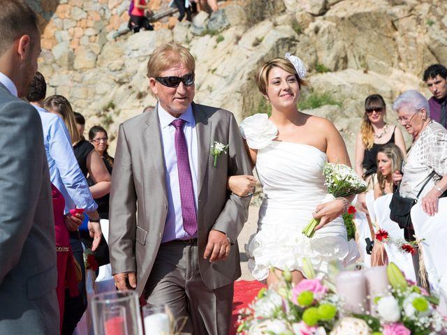 La boda de Cristian y Judith en Platja D'aro, Girona 7