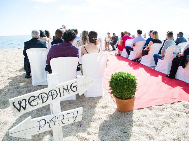 La boda de Cristian y Judith en Platja D'aro, Girona 10