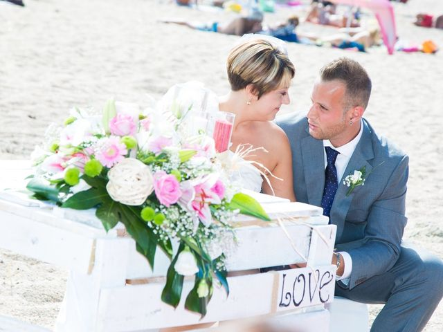 La boda de Cristian y Judith en Platja D'aro, Girona 12