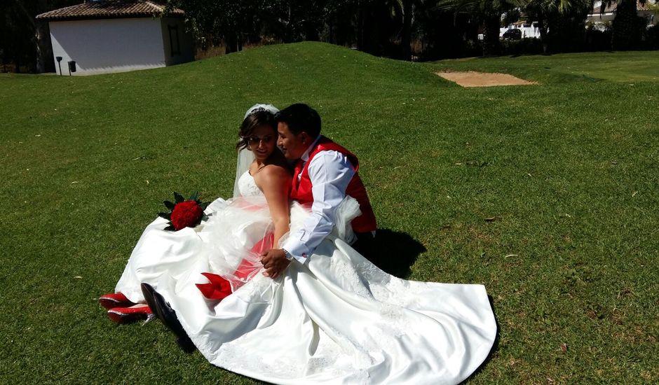 La boda de Alejandro  y Rut  en San Pedro de Alcántara, Málaga