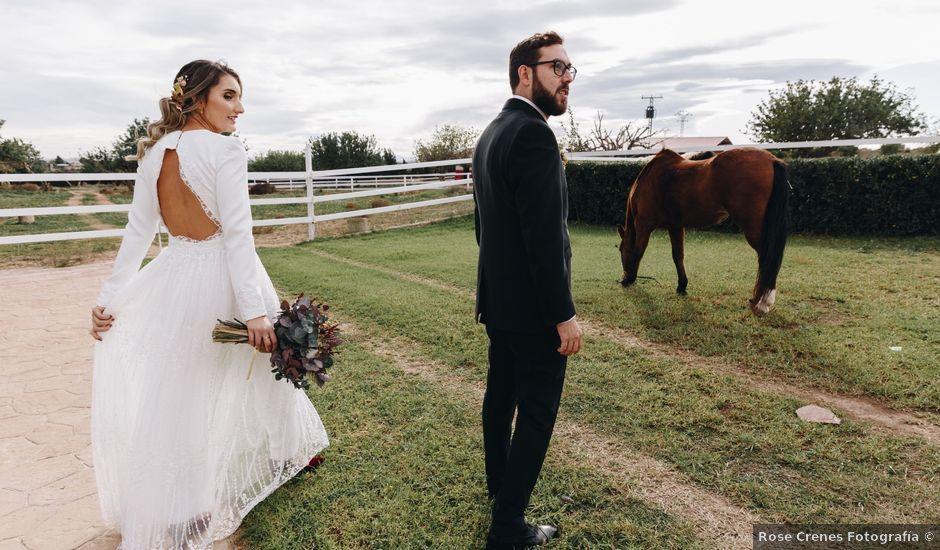 La boda de Alberto y Raquel en Naquera, Valencia