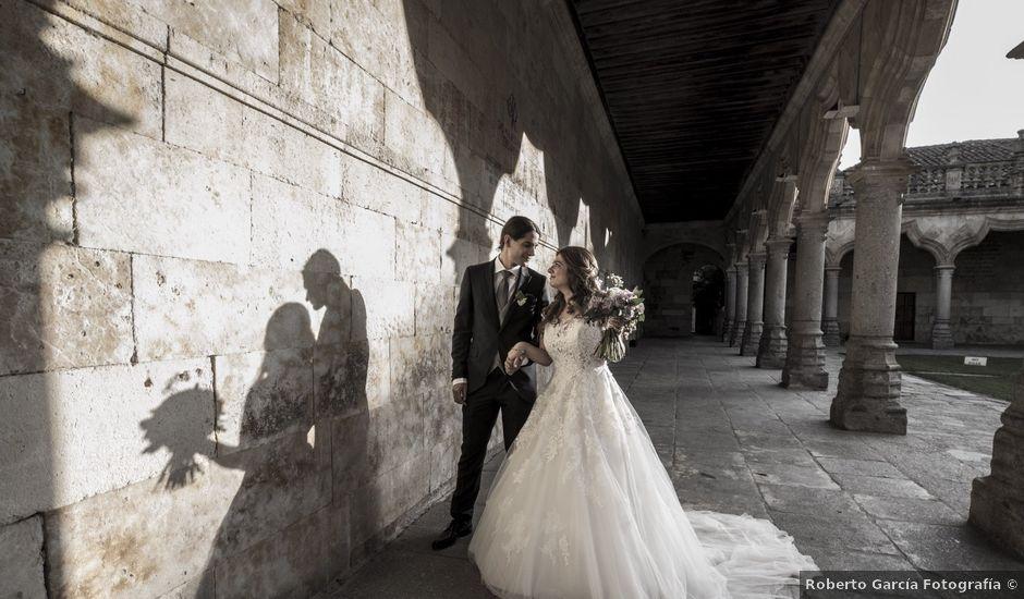 La boda de Guille y Mavi en Topas, Salamanca