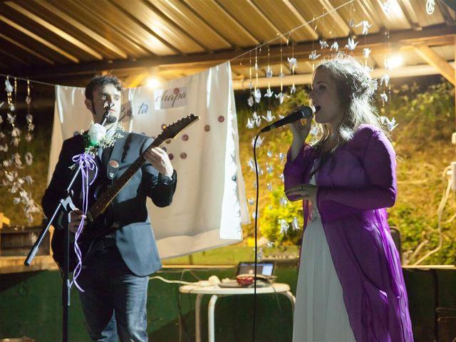 La boda de Rober y Miren en Muxika, Vizcaya 83