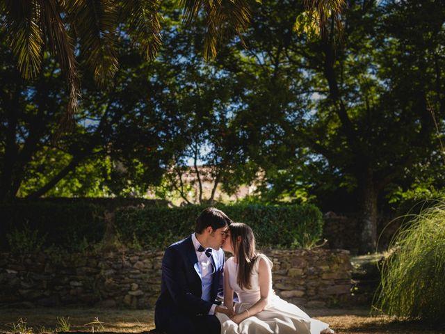 La boda de Roberto y Almudena en Valdastillas, Cáceres 64