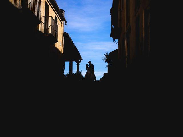 La boda de Roberto y Almudena en Valdastillas, Cáceres 1