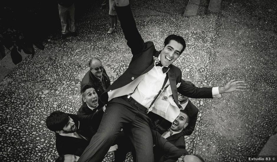 La boda de Roberto y Almudena en Valdastillas, Cáceres