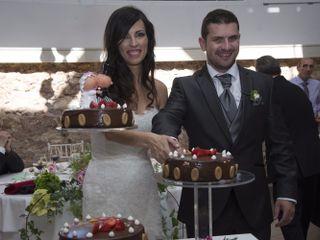 La boda de Estefanía y Fran