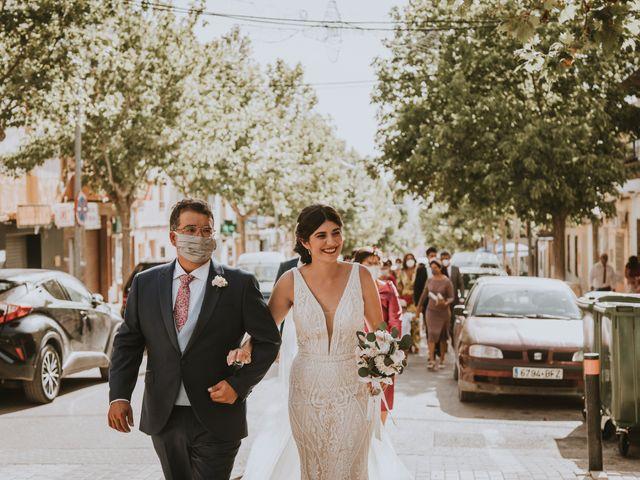 La boda de David y Rocio en Almansa, Albacete 29