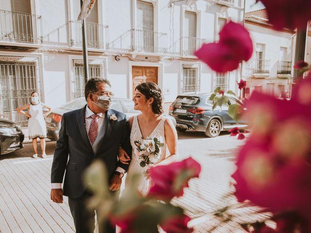 La boda de David y Rocio en Almansa, Albacete 30