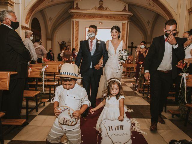 La boda de David y Rocio en Almansa, Albacete 31
