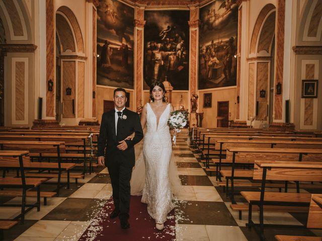 La boda de David y Rocio en Almansa, Albacete 34