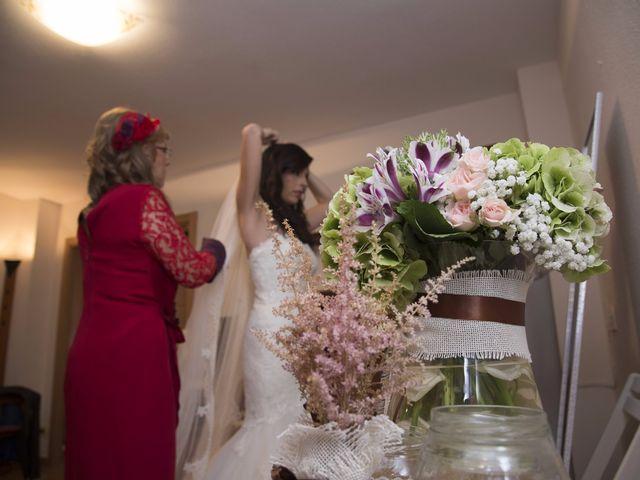 La boda de Fran  y Estefanía en El Puig, Valencia 13