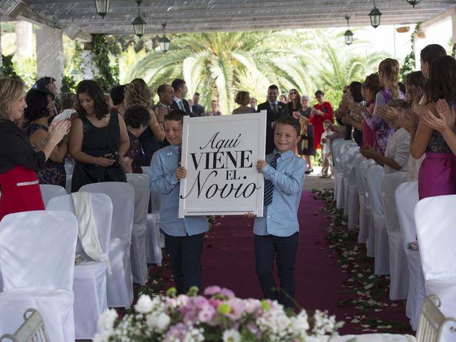 La boda de Fran  y Estefanía en El Puig, Valencia 25