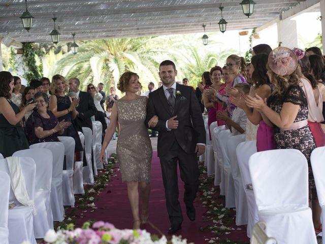 La boda de Fran  y Estefanía en El Puig, Valencia 26