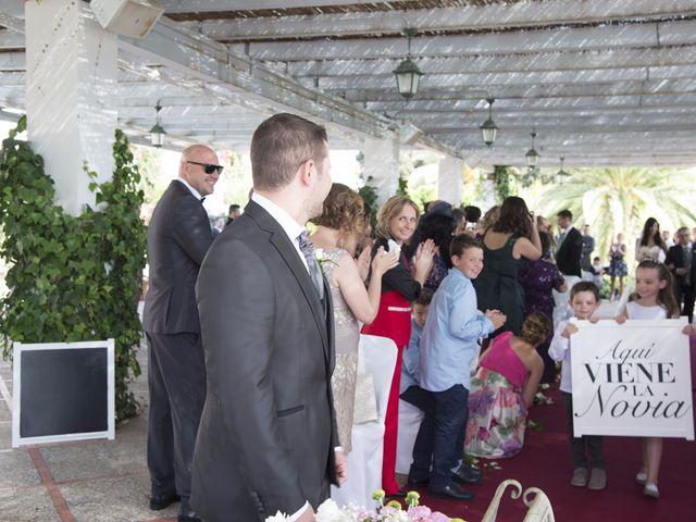 La boda de Fran  y Estefanía en El Puig, Valencia 27