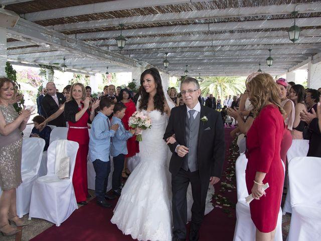 La boda de Fran  y Estefanía en El Puig, Valencia 28