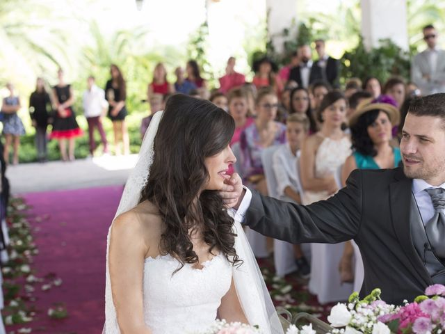 La boda de Fran  y Estefanía en El Puig, Valencia 29