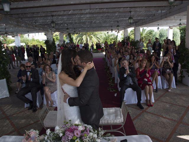 La boda de Fran  y Estefanía en El Puig, Valencia 33