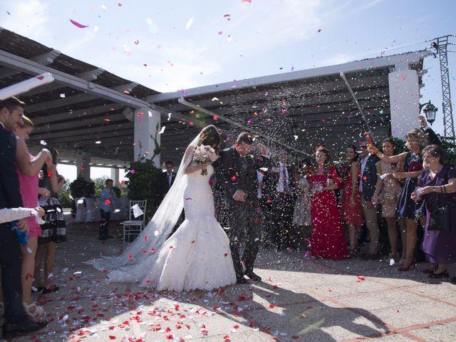La boda de Fran  y Estefanía en El Puig, Valencia 34