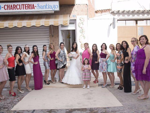 La boda de Fran  y Estefanía en El Puig, Valencia 19