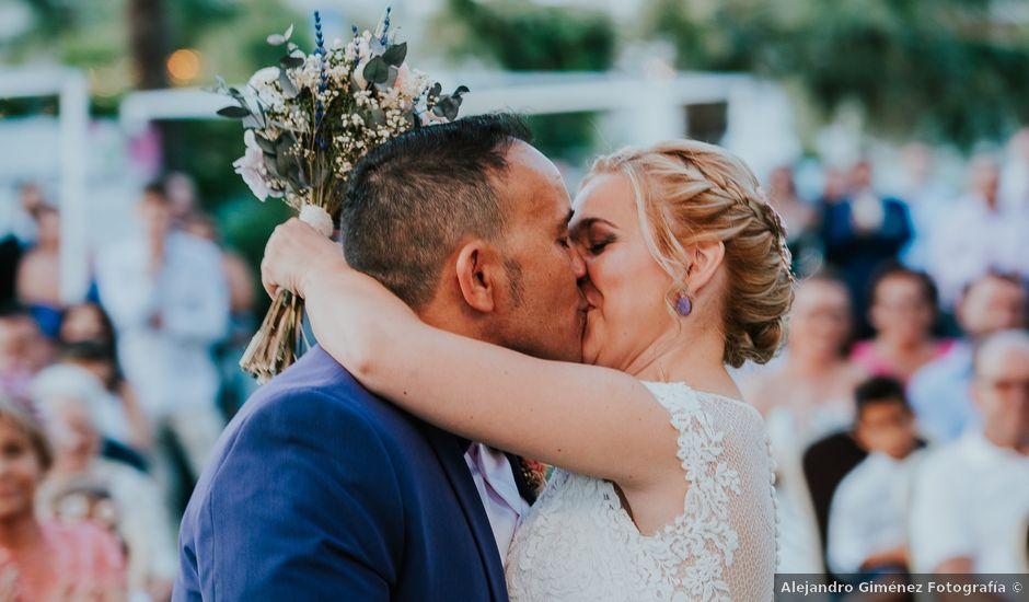 La boda de Javi y Andrea en El Raal, Murcia