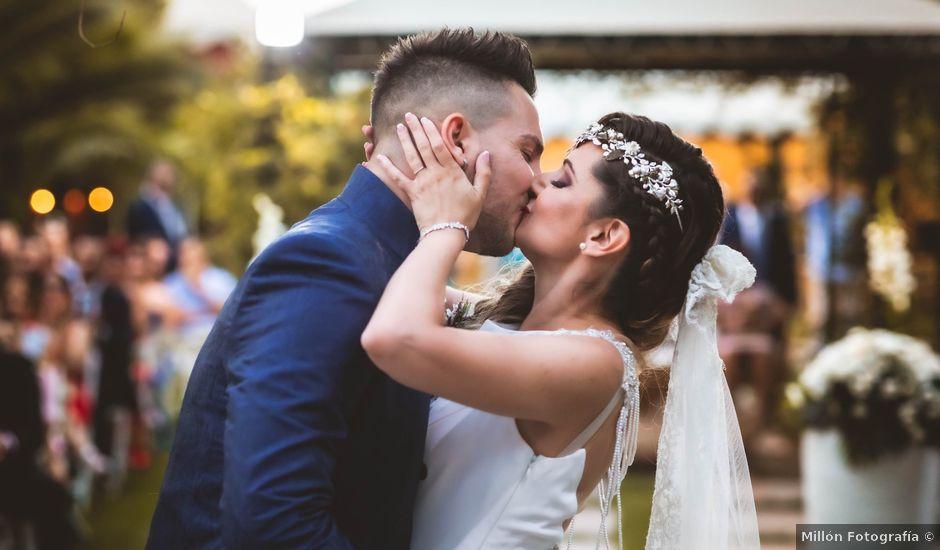 La boda de Jennifer y Francisco en Otura, Granada
