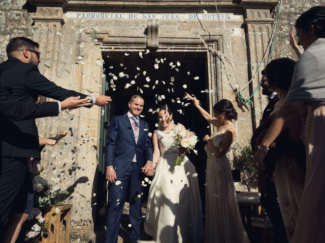 La boda de Diego y Cristina en Santiago De Compostela, A Coruña 16