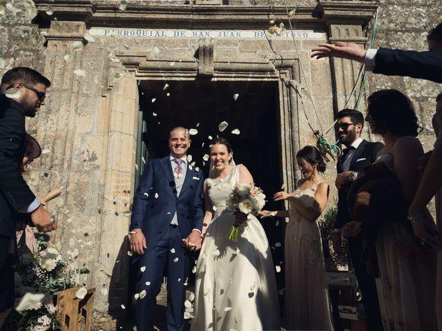 La boda de Diego y Cristina en Santiago De Compostela, A Coruña 17