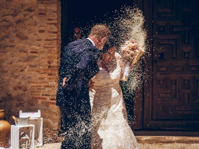 La boda de Raul y Rocio en Pozuelo De Calatrava, Ciudad Real 23