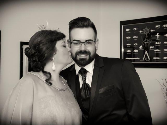 La boda de Ruben y Estefania en Las Cuatro Higueras, Almería 21