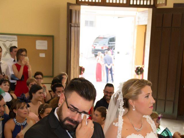 La boda de Ruben y Estefania en Las Cuatro Higueras, Almería 38
