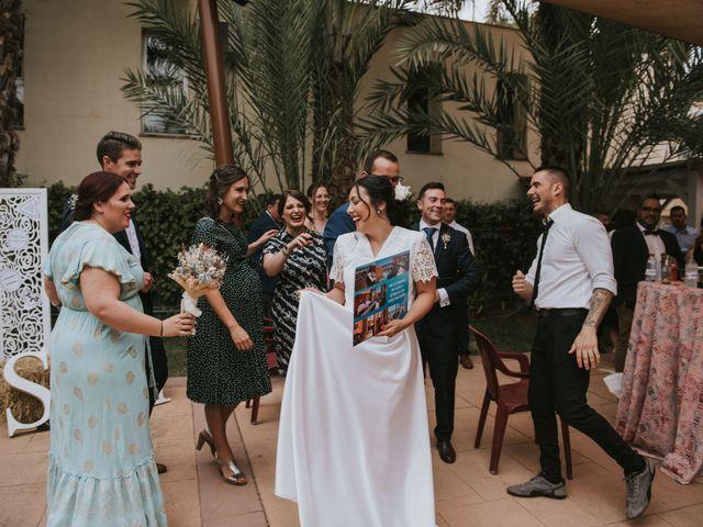 La boda de Alejandro y Sarama en Novelda, Alicante 73