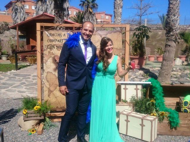 La boda de Jose Carlos y Berta  en Telde, Las Palmas 1