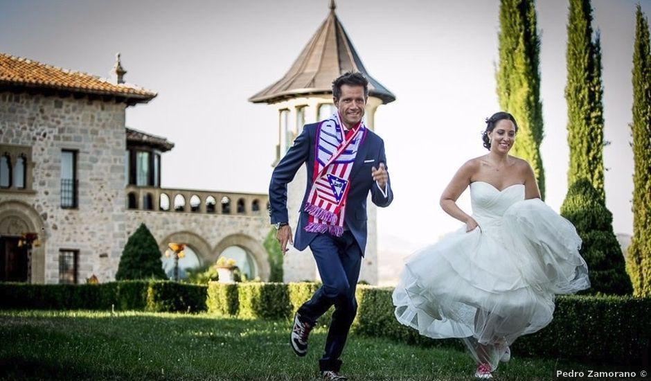 La boda de Miguel y Mayte en Mangiron, Madrid