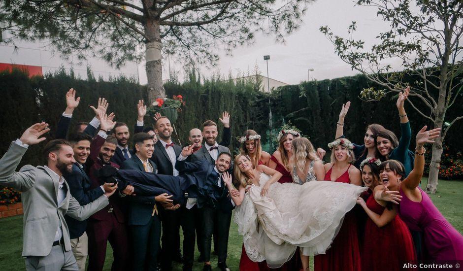 La boda de Ismael y Sandra en Alhaurin De La Torre, Málaga