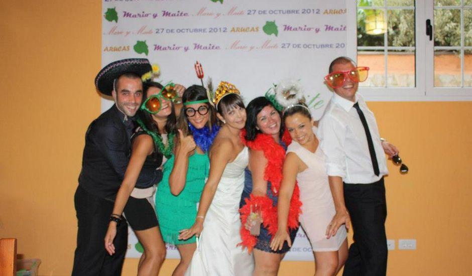 La boda de Maite y Mario en Arucas, Las Palmas