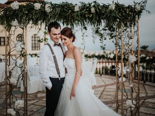 La boda de Adina y Pepe